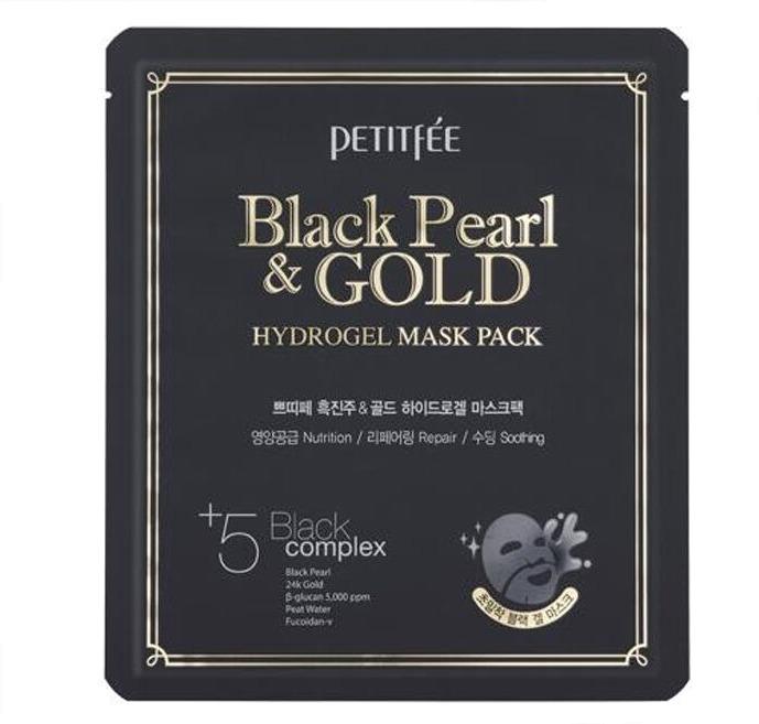 Petitfee Black Pearl And Gold Mask PackУникальный растительный состав и гидрогелевая основа позволили получить инновационное средство для глубокого очищения кожи и пор. Средство от корейского бренда Petitfee вобрало в свой состав бета &amp;ndash; глюкан и фукоидан &amp;ndash; V. Каждый из этих компонентов создан сохранять и умножать молодость кожи.<br><br>Гидрогелевая основа средства плотно обволакивает лицо и деликатно удаляет ороговевшие клетки, сальные пробки и скопившуюся пыль. Продукт усиливает защитный барьер кожи, подавляет старение и дряблость. Кроме того, средство не требует дополнительного смывания водой. Может применяться для проблемной, склонной к высыпаниям и комбинированной кожи лица.<br><br>Комплекс их пяти растительных компонентов мягко успокаивает, снимает раздражение и усталость.<br><br>Фукоидан &amp;ndash; V создает на поверхности кожи плотный защитный барьер, благодаря чему сохраняется физиологический уровень влажности в клетках, кожа становится более эластичной, подтянутой и упругой.<br><br>&amp;nbsp;<br><br>Объём: 32 гр.<br><br>&amp;nbsp;<br><br>Способ применения:<br><br>Извлеките средство из упаковки и нанесите на очищенную и тонизированную кожу, тщательно расправляя все складочки. Оставьте на 10 &amp;ndash; 15 минут, после чего аккуратно удалите маску, начиная от периферии к центру.<br>