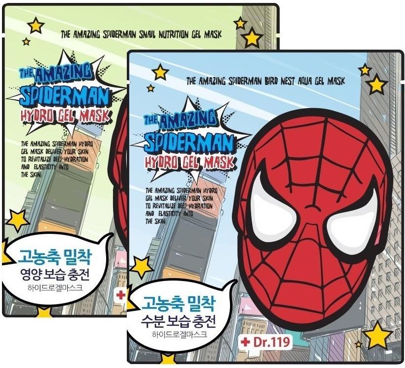 Baviphat Dr The Amazing Spiderman Aqua Gel MaskКорейский бренд известный своими яркими и необычными упаковками в форме фруктов и овощей представляет гидрогелевую маску интенсивного действия. Всего полчаса – и ваша кожа сияет здоровьем и готова к важному мероприятию, где нужно выглядеть на все сто.<br><br>Серия гелевых масок из линейки The Amazing Spiderman включает в свой состав натуральные и редкие ингредиенты, которые вы, возможно, прежде никогда не использовали. Удобная гидрогелевая основа плотно прилегает к коже, не сползает, не вызывает раздражений и чрезвычайно комфортна.<br><br>Попробуйте следующие средства из линейки масок, названной в честь детского кумира:<br><br>Bird Nest<br>Главный активный ингредиент состава – экстракт ласточкиных гнезд. Этот относительно новый компонент в косметике представляет собой уникальный биоматериал – морские водоросли, остатки ракушек и моллюсков, скрепленные гликопротеином. Средства с экстрактом в составе насыщенны минералами, витаминами, аминокислотами. Имеют выраженный подтягивающий и омолаживающий эффект.<br><br>Snail Nutrition<br>Экстракт улиточной слизи не только питает и увлажняет, избавляя от надоевших шелушений и ощущения стянутости, но и стимулируют естественные процессы омоложения кожи. Клетки дермы восстанавливаются, и таким образом лицо защищено от признаков раннего старения. Маска также оказывает противовоспалительный эффект, уходят покраснения, заживают ранки и микроповреждения.Объём: 30 гр.Способ применения:Маску применять на очищенной коже в течение 30-40 минут. Оставить ухаживающий состав до полного впитывания.<br>