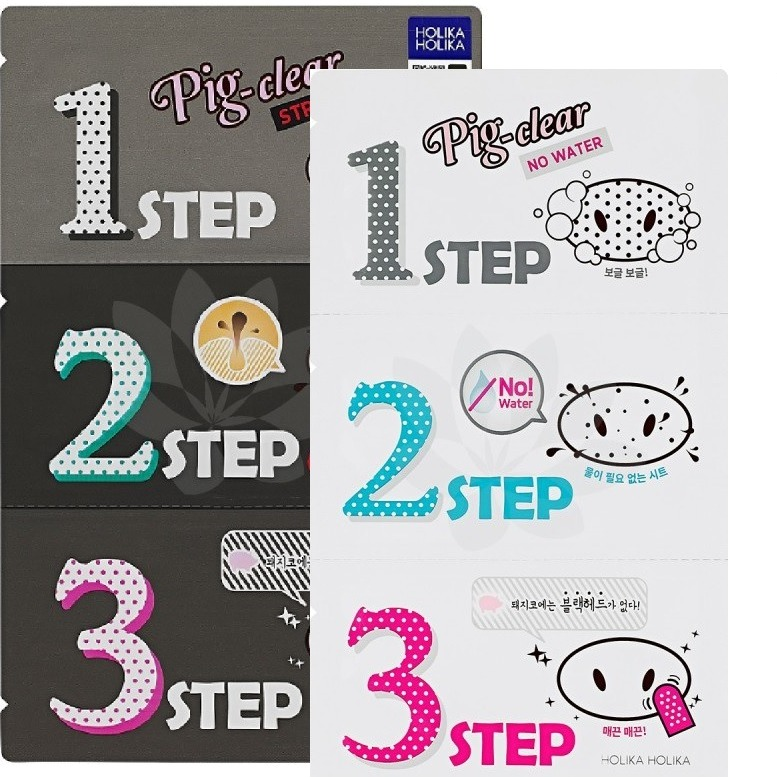 Купить Holika Holika Pig Clear Blackhead step Kit