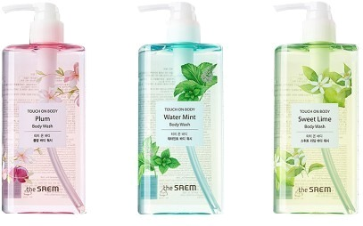 The Saem Touch On Body Water Body