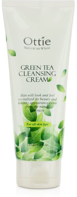 Ottie Green Tea Cleansing Cream фото