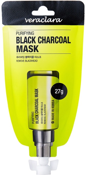 Veraclara Purifying Black Charcoal Mask фото