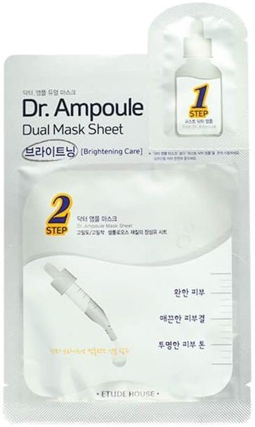 Etude House Dr Ampoule Dual Mask Sheet