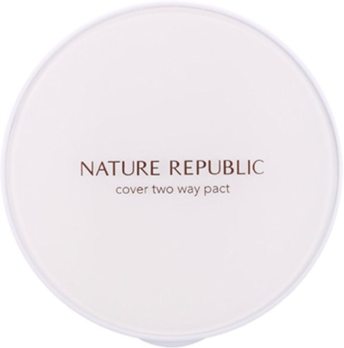 Nature Republic Nature Origin Cover Two Way Pact SPF PA фото