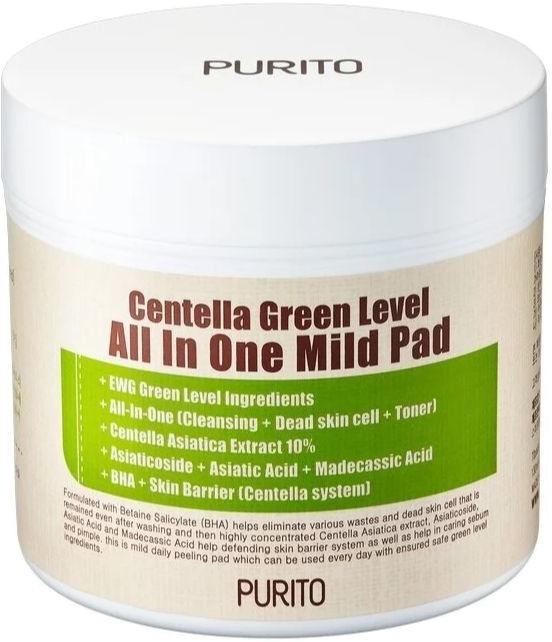 Purito Centella Green Level All In One Mild Pad фото