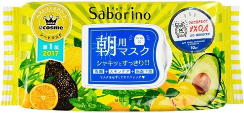 BCL Saborino Morning Facial Sheet Mask фото