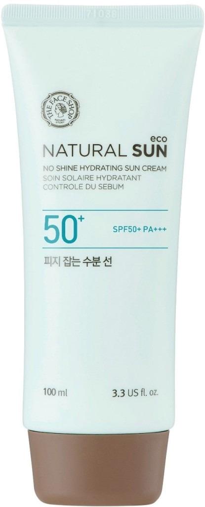 The Face Shop Natural Sun Eco No Shine Hydrating Sun Cream SPF  PA