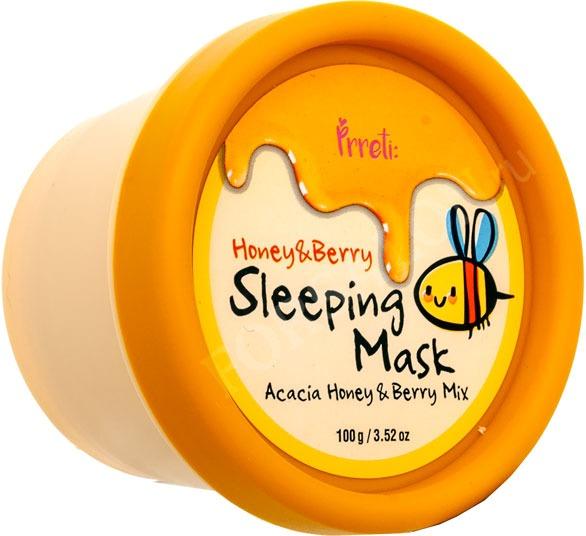 Prreti Honey and Berry Sleeping Mask фото
