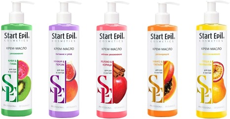Aravia Start Epil Hand Cream Oil фото