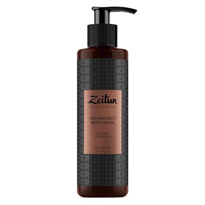 Zeitun Tea Tree Oil Deo Protect Body Wash фото