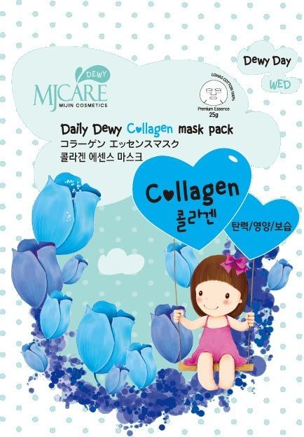 Mijin Cosmetics Mj Care Daily Dewy ollagen Mask Pack.
