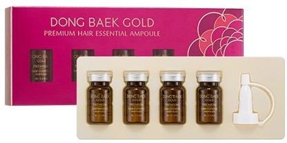 Missha Dong Baek Gold Premium Hair Essential Ampoule