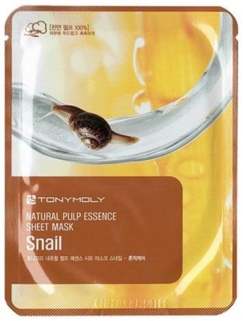 Tony Moly Essence Sheet MaskSnail Skin Damage Care фото