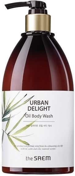 Гель для душа с маслом новозеландского льна Urban Delight Oil Body Wash