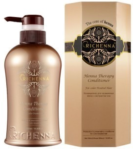 Richenna Henna Therapy Conditioner.