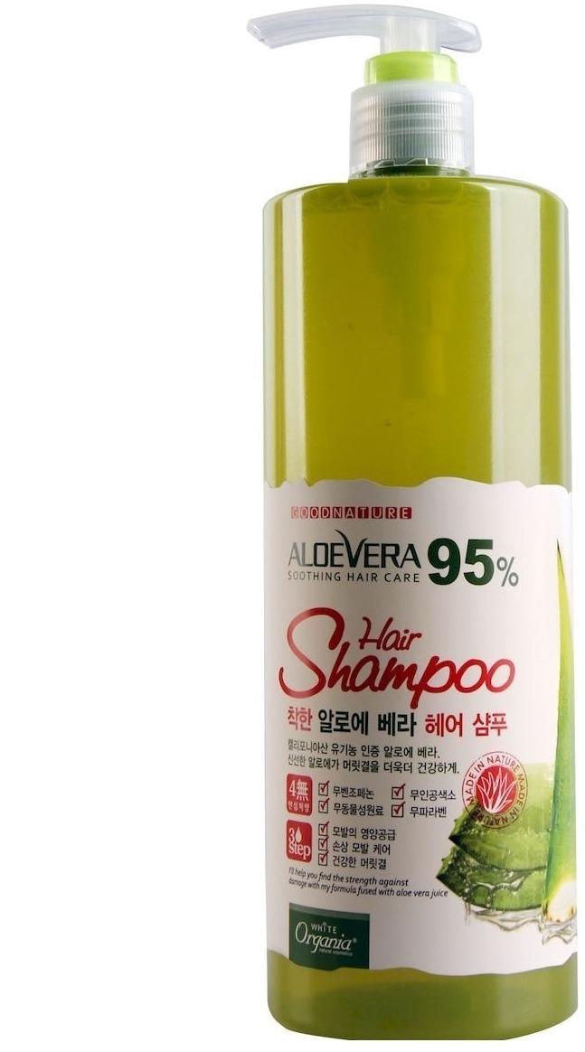 Купить White Cospharm White Organia Good Natural Aloe Vera Hair Shampoo
