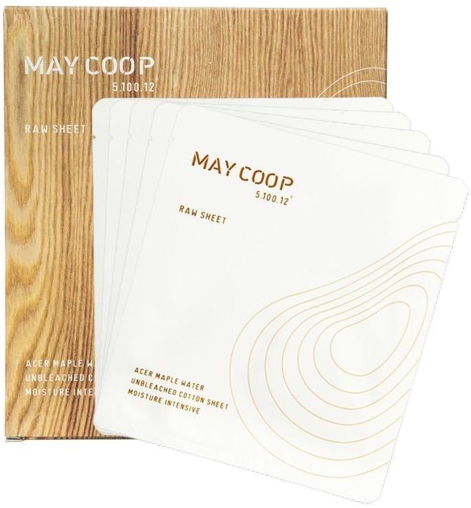 May Coop Raw Sheet Mask.