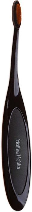 Holika Holika Magic Tool Big Brow BrushСпециалисты Holika Holika точно знают секрет безукоризненного макияжа. Благодаря инновационной линейке вспомогательных инструментов Magic Tool Вы сможете создавать макияж с профессиональной точностью визажиста. Плотный ворс щеточки Big Brow Brush позволяет всего несколькими прикосновениями прорисовать нужную форму брови, волосок к волоску. Специальная форма щетинок создает естественные контуры, и необходимую направленность брови. Эргономичной формы ручка позволит с легкостью создавать брови любой толщины, при этом противоскользящий материал рукоятки предотвратит выскальзывание кисти. Подходит для нанесения как сухих, так и кремовых текстур.<br><br>&amp;nbsp;<br><br>Объём: 1 шт.<br><br>&amp;nbsp;<br><br>Способ применения:<br><br>Наберите на кисть необходимое количество теней и приступайте к созданию макияжа.<br>