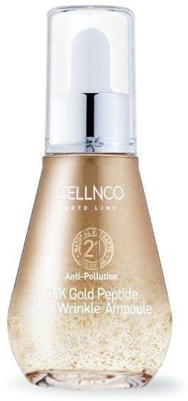 Cellnco Boto Line K Gold Peptide Anti  Wrinkle Ampoule.