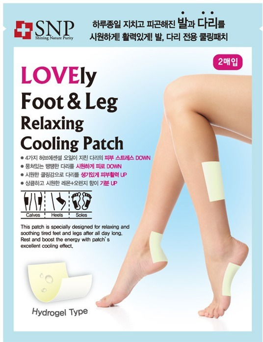 SNP Foot And Leg Relaxing Cooling Patch