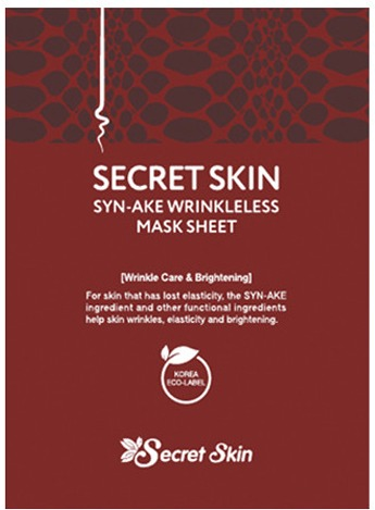 SynAke Secret Skin SynAke Wrinkleless Mask Sheet фото