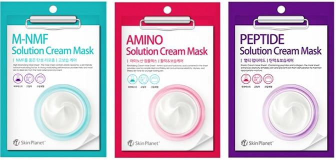 Mijin Cosmetics Skin Planet Solution Cream Mask.