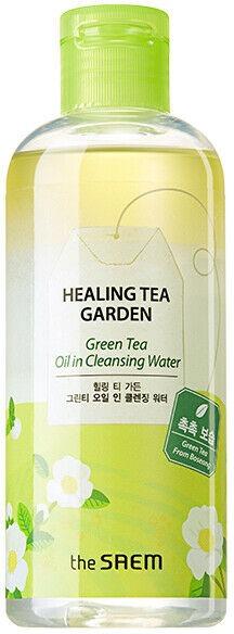 The Saem Healing Tea Garden Green Tea Oil in Cleansing Water