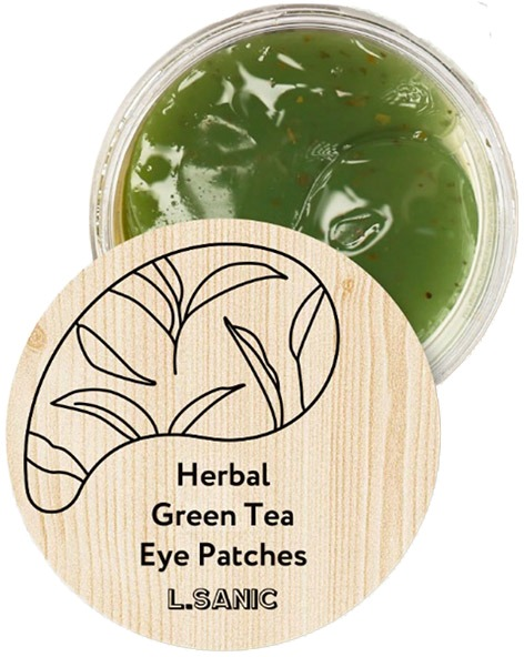 LSanic Herbal Green Tea Hydrogel Eye Patches фото