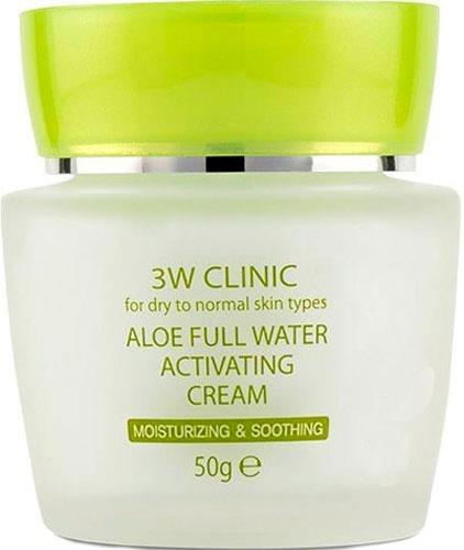 Купить W Clinic Aloe Full Water Activating Cream, 3W Clinic