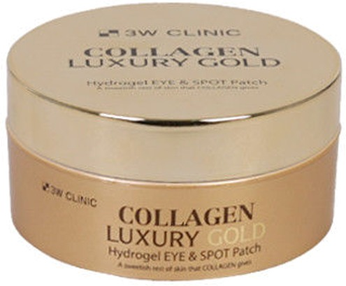 Купить W Clinic Collagen and Luxury Gold Hydrogel Eye and Spot Patch, 3W Clinic