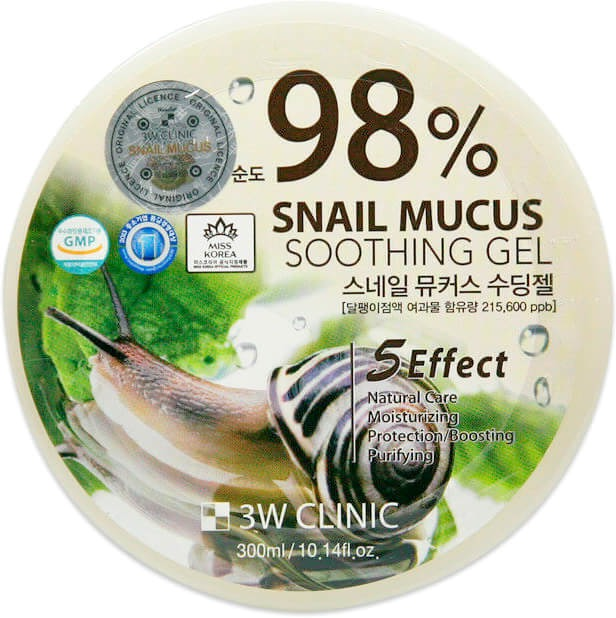 W Clinic Snail Mucus Soothing Gel, 3W Clinic  - Купить