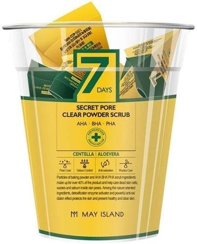 May Island Days Secret Pore Clear Powder Scrub фото
