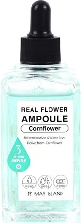 May Island Real Flower Ampoule Cornflower фото