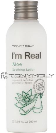 Tony Moly Im Real Aloe Soothing Lotion фото