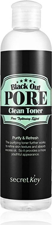 Secret Key Black Out Pore Clean Toner фото