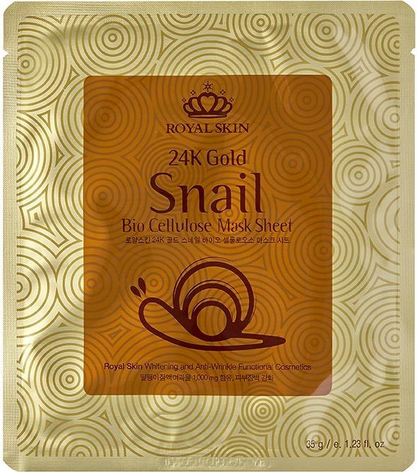 Royal Skin K Gold Snail Bio Cellulose