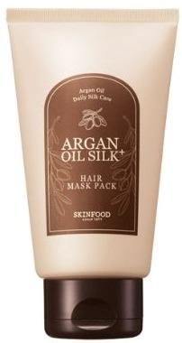 SkinFood Argan Oil Silk Plus Hair Maskpack фото