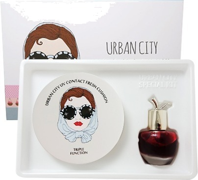 Baviphat Urban Dollkiss City UV Contact Fresh Cushion