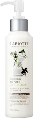 Labiotte Chougarden All Step Oil To Foam фото