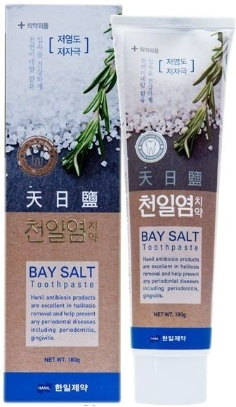 Hanil Chemical Bay Salt Toothpaste.
