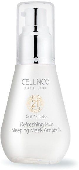 Cellnco Boto Line Refreshing Milk Sleeping Mask Ampoule.
