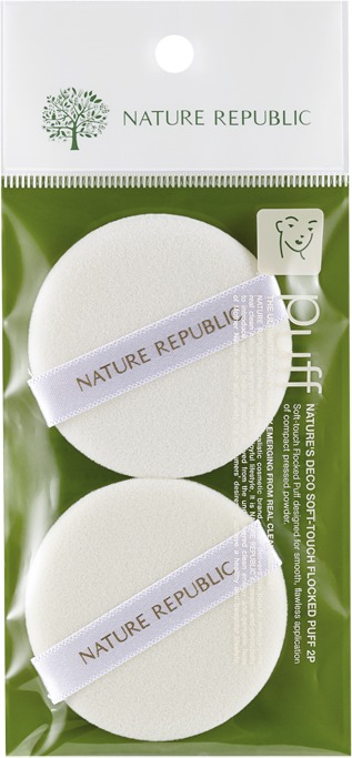 Nature Republic Beauty Tool SoftTouch Flocked Puff
