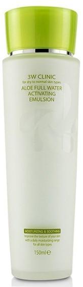 W Clinic Aloe Full Water Activating Emulsion, 3W Clinic  - Купить