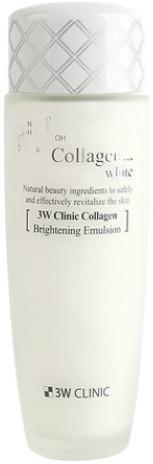 Купить W Clinic Collagen White Brightening Emulsion, 3W Clinic