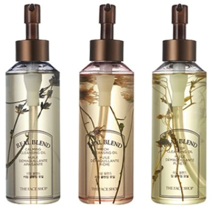 Купить The Face Shop Real Blend Cleansing Oil