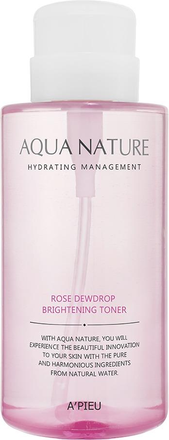 APieu Aqua Nature Rose Dewdrop Brightening Toner