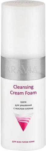 Aravia Professional Cleansing Cream Foam фото