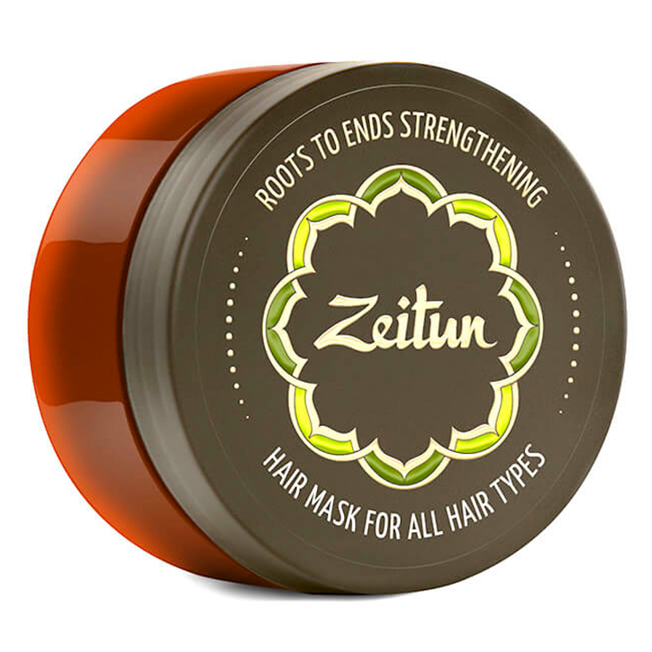 Zeitun Roots to Ends Strengthening Hair Mask Usma Jojoba and Herbs фото