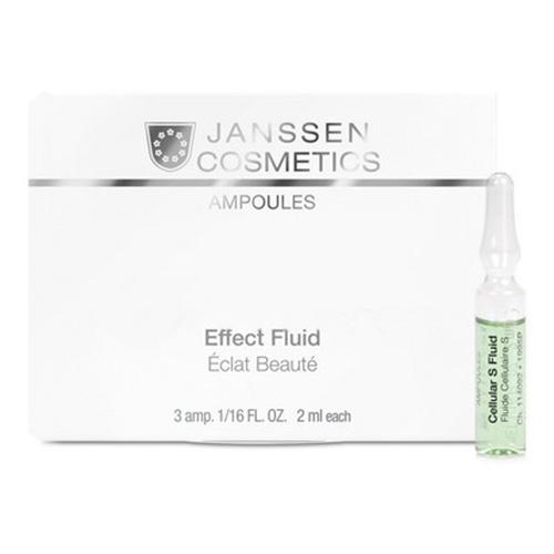 Janssen Cosmetics Cellular S Fluid Booster Effect Fluid Ampoules фото