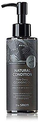 The Saem Natural Condition Pore Deep Cleansing Oil